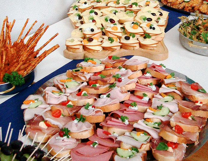Fingerfood h ppchen for Canapes ideen
